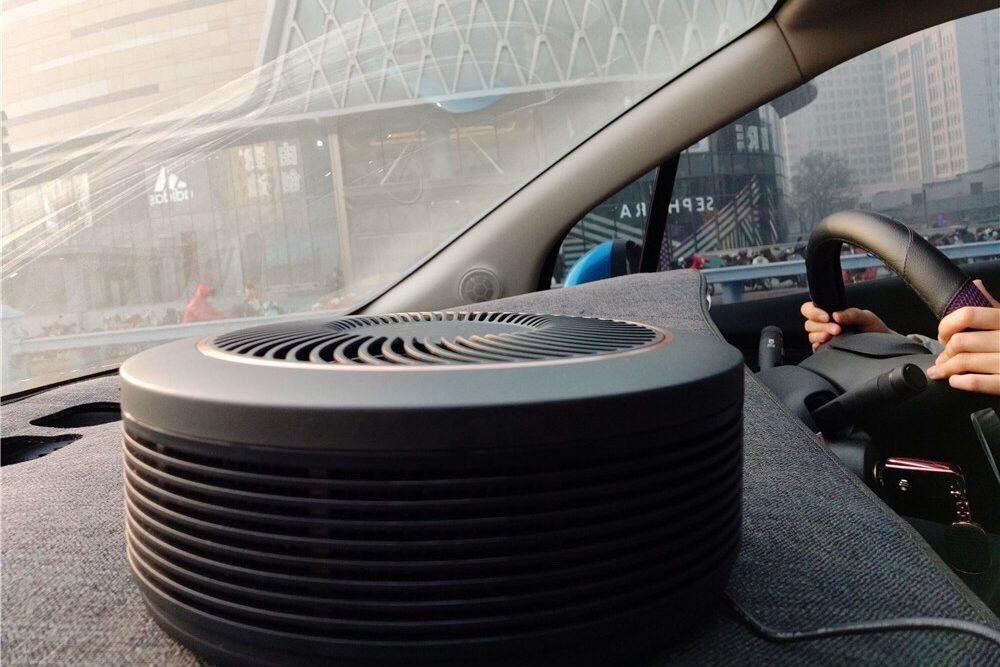 เครื่องฟอกอากาศในรถยนต์ช่วยได้